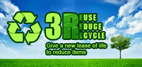 3R, Reuse, Reduce, Recycle